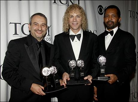 Joe DiPietro, David Bryan and Daryl Waters
