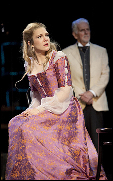 Lily Rabe and Herb Foster