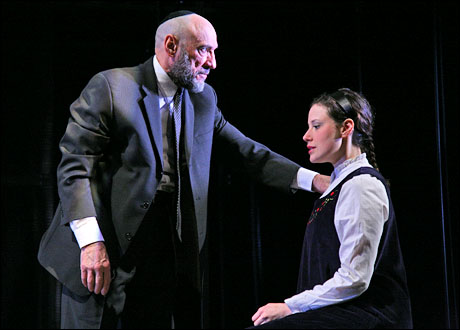 F. Murray Abraham and Melissa Miller