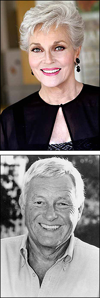Lee Meriwether and Orson Bean