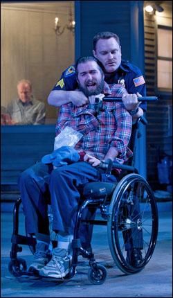 Michael Patrick Thornton and Danny McCarthy