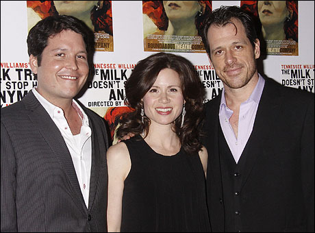 Curtis Billings, Maggie Lacey and Darren Pettie