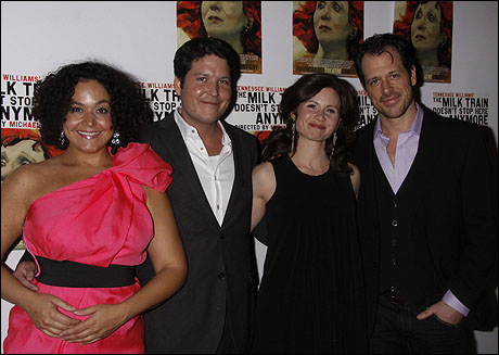 Elisa Bocanegra, Curtis Billings, Maggie Lacey and Darren Pettie