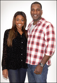 Patina Miller and Norm Lewis