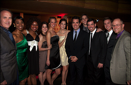 Paul Christman, Adrianna Hicks, Kristina Love, Julia West, Chelsea Umberham, Emily Mechler, Brian d'Arcy James, Skyler Adams, Ryan Wood, Christopher Rice and Shawn Churchman