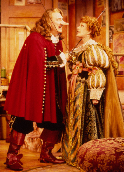 Philip Bosco and Carol Burnett