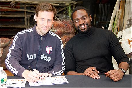 Lewis Cleale and Brian Tyree Henry