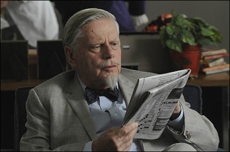 "Robert Morse, Outstanding Guest Actor in a Drama Nominee, as Bertram Cooper in ""Mad Men"""