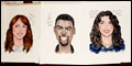 Motherf**ker with the Hat Stars Receive Sardi's Caricatures