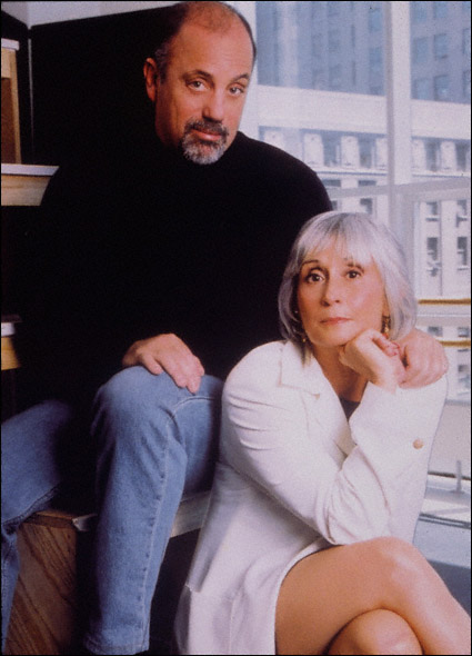Billy Joel and Twyla Tharp in a promotional shot