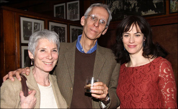 Martha Ives, David Ives and Maggie Siff