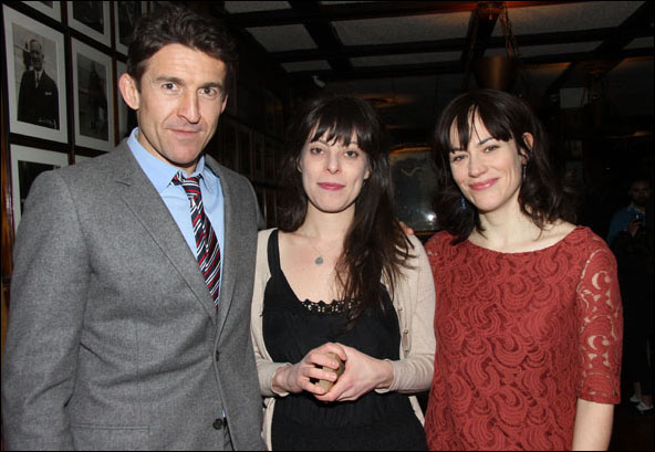 Jonathan Cake, Arin Arbus and Maggie Siff