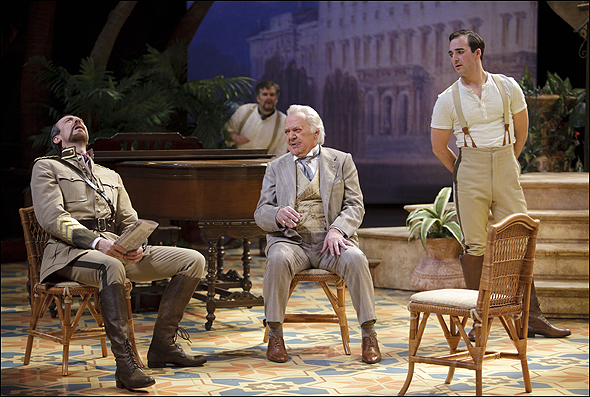 Juan Chioran, James Blendick, Ben Carlson and Tyrone Savage in Much Ado About Nothing