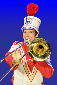 Matt Loehr in Maltz Jupiter Theatre's <i>Music Man</i>.
