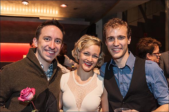 Erin Driscoll, Robert Mintz and Matthew Gardiner