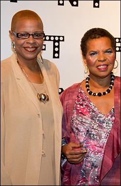 Terrie Williams and Ntozake Shange