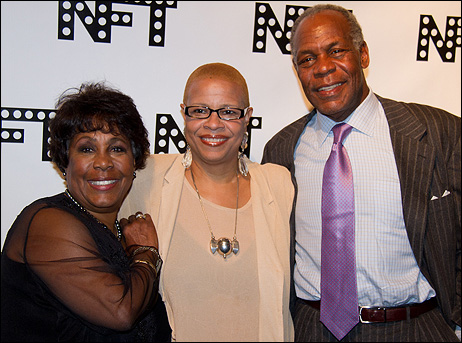 Starletta DuPois, Terrie Williams and Danny Glover