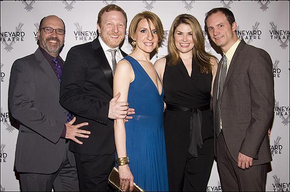 Larry Pressgrove, Hunter Bell, Susan Blackwell, Heidi Blickenstaff and Jeff Bowen