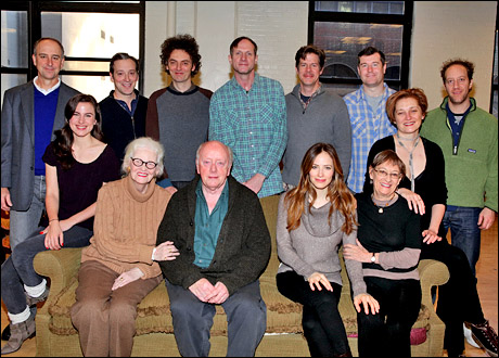 Michael Countryman, Mikaela Feely-Lehmann, Jeremy Shamos, O'Connell, John Keating, Peter Maloney, Mark Brokaw, Rick Holmes, Jaime Ray Newman, Tom Patrick Stephens, Patricia Conolly, Francesca Faridany and Joey Slotnick