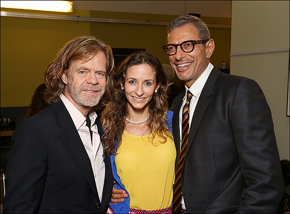 William H. Macy, Emilie Livingston and Jeff Goldblum