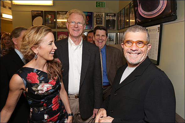 Felicity Huffman, Ed Begley Jr., Rod McLachlan and David Mamet