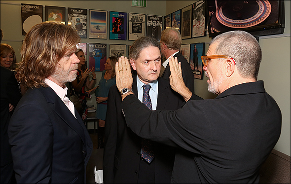 William H. Macy, Scott Zigler and David Mamet