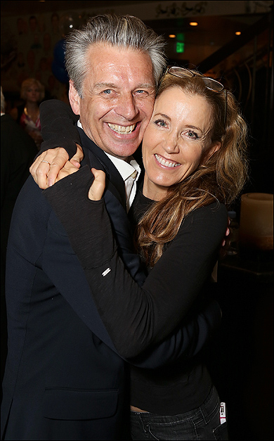 Michael Ritchie and Felicity Huffman