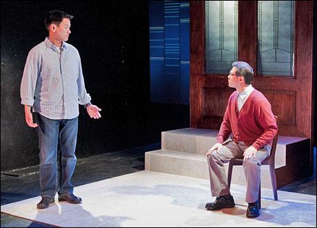 Joel de la Fuente and James Saito