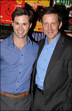 Andrew Rannells and Lewis Cleale