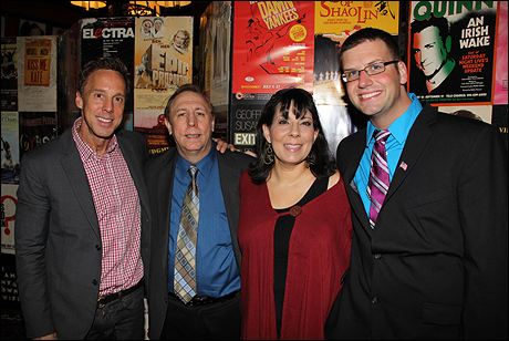 Michael West, Rick Crom, Christine Pedi and Tom D'Angora