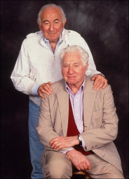 Budd Schulberg and Stan Silverman