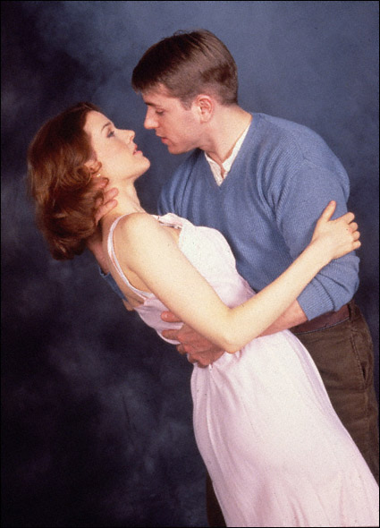 Ron Eldard and Penelope Ann Miller