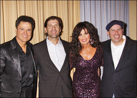 Donny Osmond, Gregory Young, Marie Osmond and Atanas Ilitch