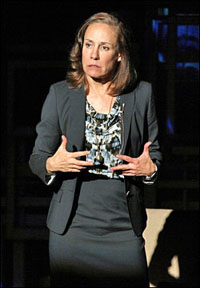 Laurie Metcalf in <i>The Other Place.</i>