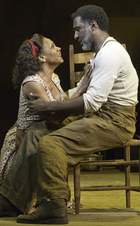 Audra McDonald and Norm Lewis in <i>Porgy and Bess.</i>
