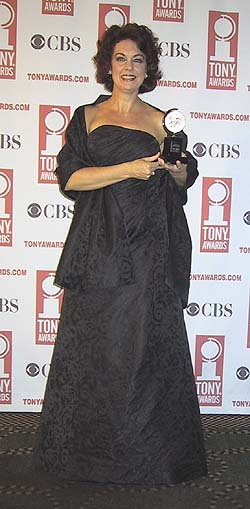 Tony winner Michelle Pawk.
