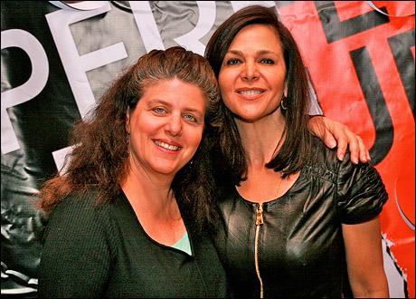 Sheryl Kaller and Barbara Manocherian