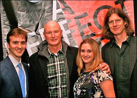 Andy Sandberg, David Hay, Whitney Hoagland Edwards and Wilson Milam