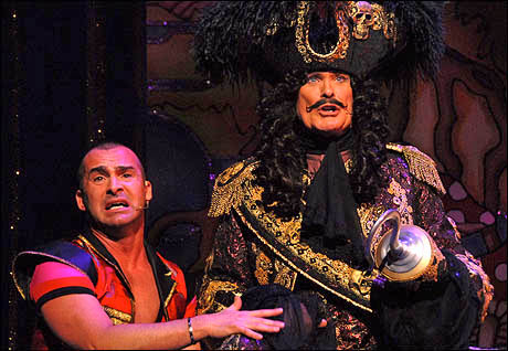 Louie Spence and David Hasselhoff
