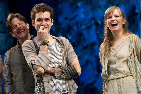Rick Holmes, Adam Chanler-Berat and Betsy Hogg