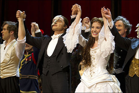 In celebration of its 25th anniversary, a special staging of Andrew Lloyd Webber's The Phantom of the Opera played sold-out performances at London's Royal Albert Hall Oct. 1-2. Ramin Karimloo and Sierra Boggess starred.