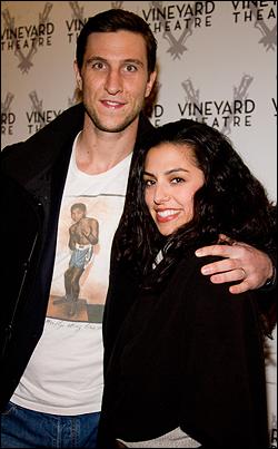 Pablo Schreiber and wife Jessica