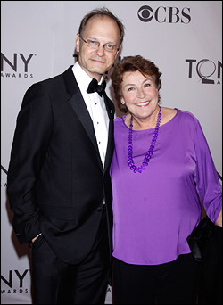 David Hyde Pierce and Helen Reddy