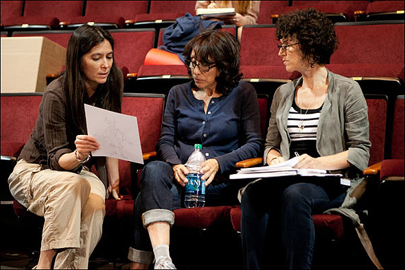Diane Paulus, Andrea Martin and Dominique Lemieux