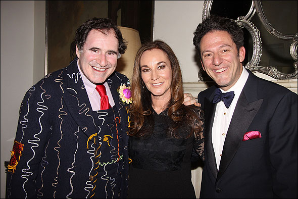 Richard Kind, John Pizzarelli and Jessica Molaskey