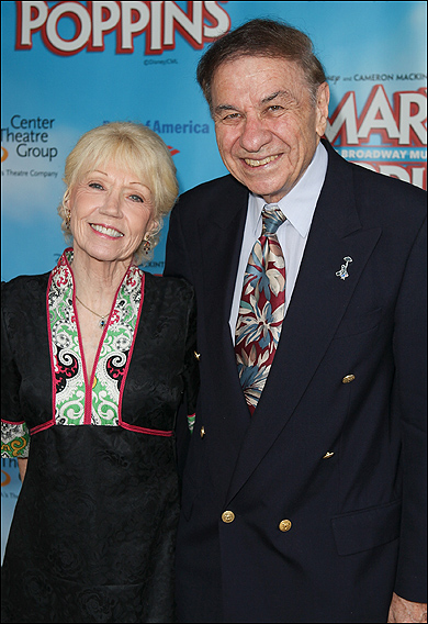 Elizabeth Sherman and Richard M. Sherman