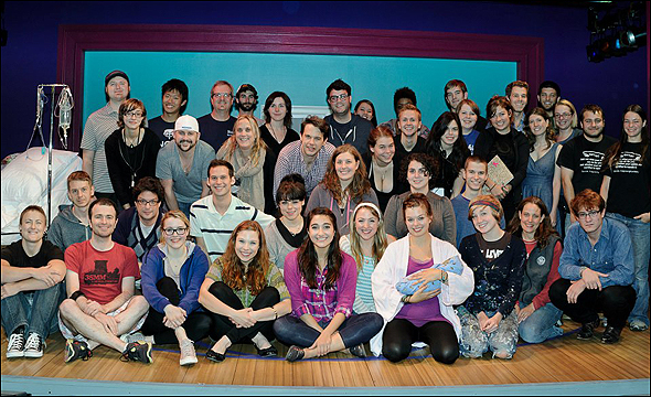 The cast and crew of Pregnancy Pact