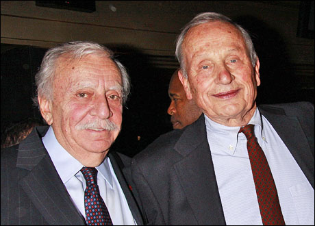 Manny Azenberg and A.R. Gurney