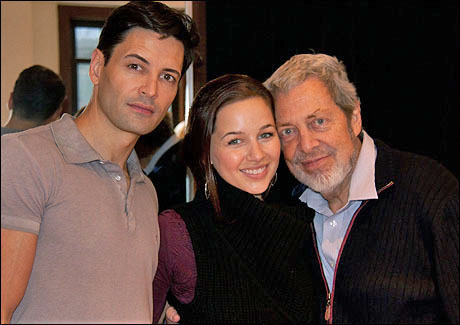 Sean Palmer, Jessica Grové and Tony Walton