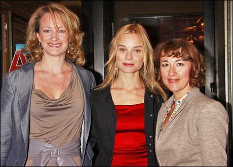 Annette McLaughlin, Hannah Yelland and Dorothy Atkinson